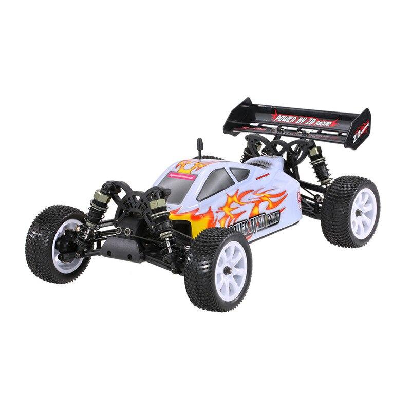 ZD Racing 9102 Thunder B-10E bricolage Car Kit 2,4 GHz 4WD 1/10 Brushless RC tout terrain Buggy meilleur Deal jouets modèles réduits