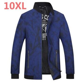 2018 new Plus size 8XL 7XL 6XL 5XL Brand Jacket Men Veste Homme Bomber Waterproof Windproof Windbreaker Autumn Ultra light Coat
