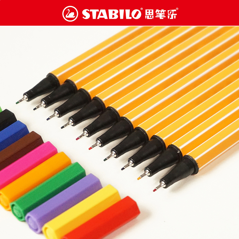 Promote€Marker-Pen-Set Stabilo Painting Watercolor Art-Supplies Drawing School Sketch for Liner