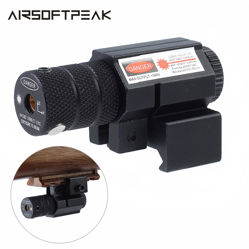 Leistungsstarke Tactical Mini Red Dot Laser Anblick Scope Weaver Picatinny Mount Set für Gun Gewehr Pistol Shot Airsoft Zielfernrohr Jagd