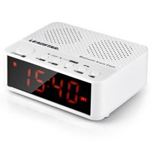 Leadstar Portable Wireless Bluetooth Speaker Alarm Clock FM Radio LED Screen Handsfree Calls Support TF Card