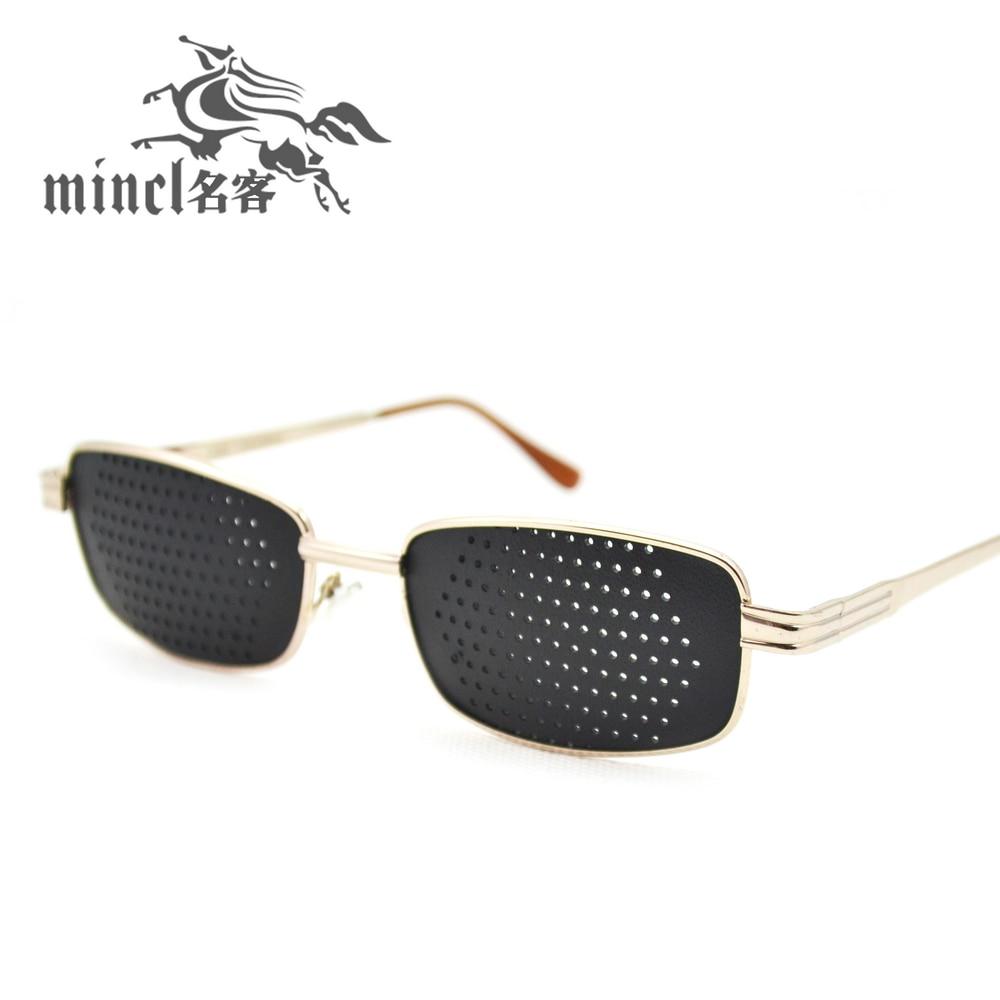 5b10e3fb44 Ostinatos pinhole glasses eye remedical myopia sunglasses