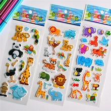 Объемные Пузырьковые наклейки с изображением животных, мультяшных принцесс, котов, водяных шариков, сделай сам, детские игрушки для детей, мальчиков и девочек