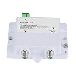 Micro Optical Transmitter OTH-1015-3mW FTTH CATV Single-mode fiber optic 47-1000MHz 1550NM high return loss with SC/APC