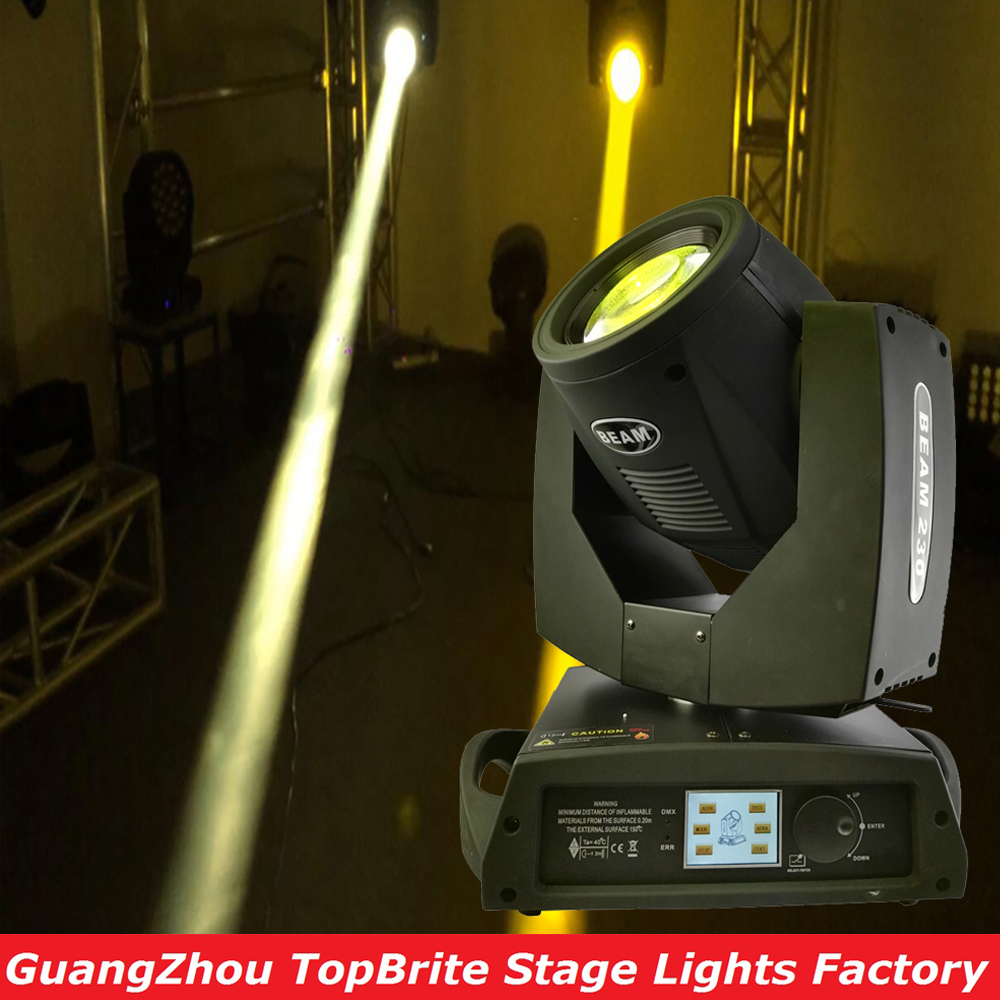 Hot Sales 7R 230W Professional Stage Moving Head Beam Light Genuine High Quality DMX 16/20 CHs For Stage Dj Disco Laser Light