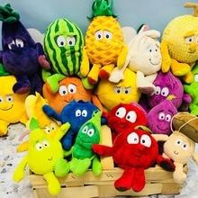 Фрукты, овощи, мягкая плюшевая игрушка, плюшевая игрушка, банан, вишня, брокколи, ананас, фруктовая Подушка, хорошая банда для детей
