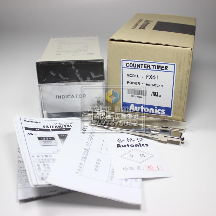New original authentic FX4-I  Autonics timerNew original authentic FX4-I  Autonics timer