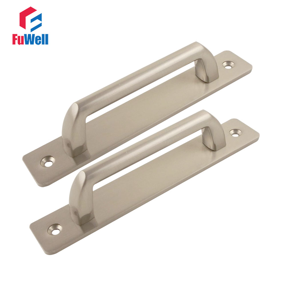 2pcs Zinc Alloy Bedroom Door Handles Pull for Interior Doors 116mm/160mm Hole Pitch Drawer Cabinet Kitchen Furniture Handle Grip entrance door handle solid wood pull handles pa 377 l300mm for entry front wooden doors