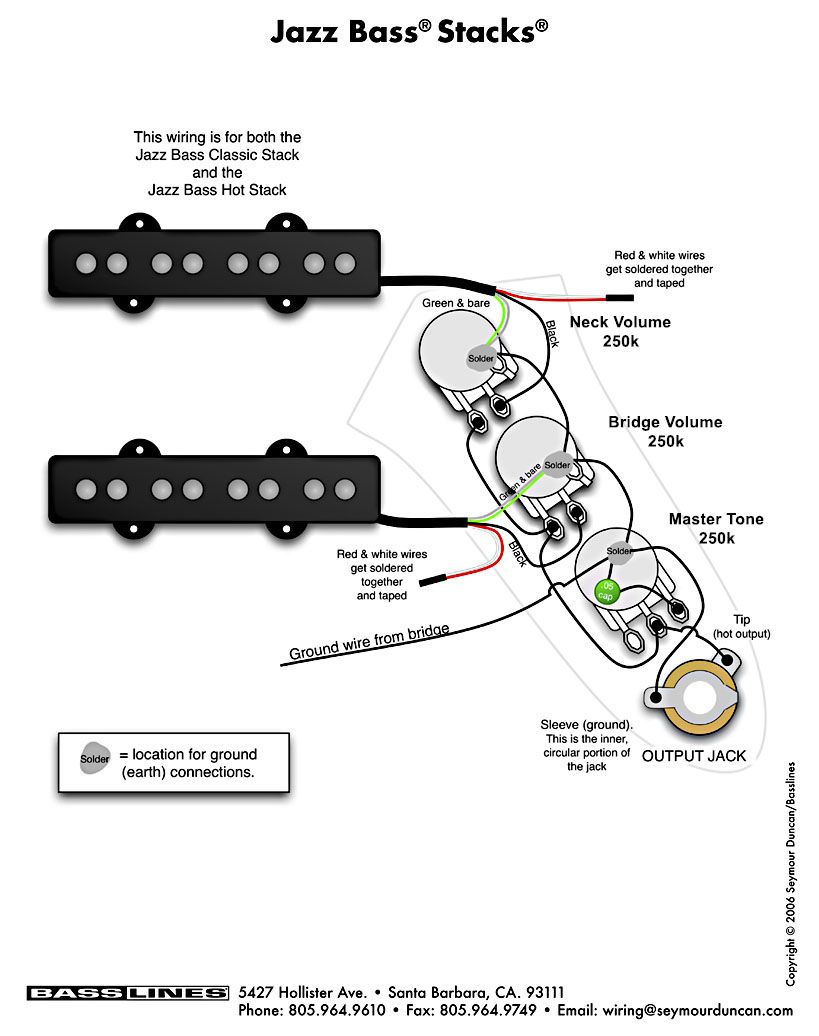 wired fender j bass schematic wiring diagram centrej bass passive wiring diagram 10 [ 819 x 1036 Pixel ]