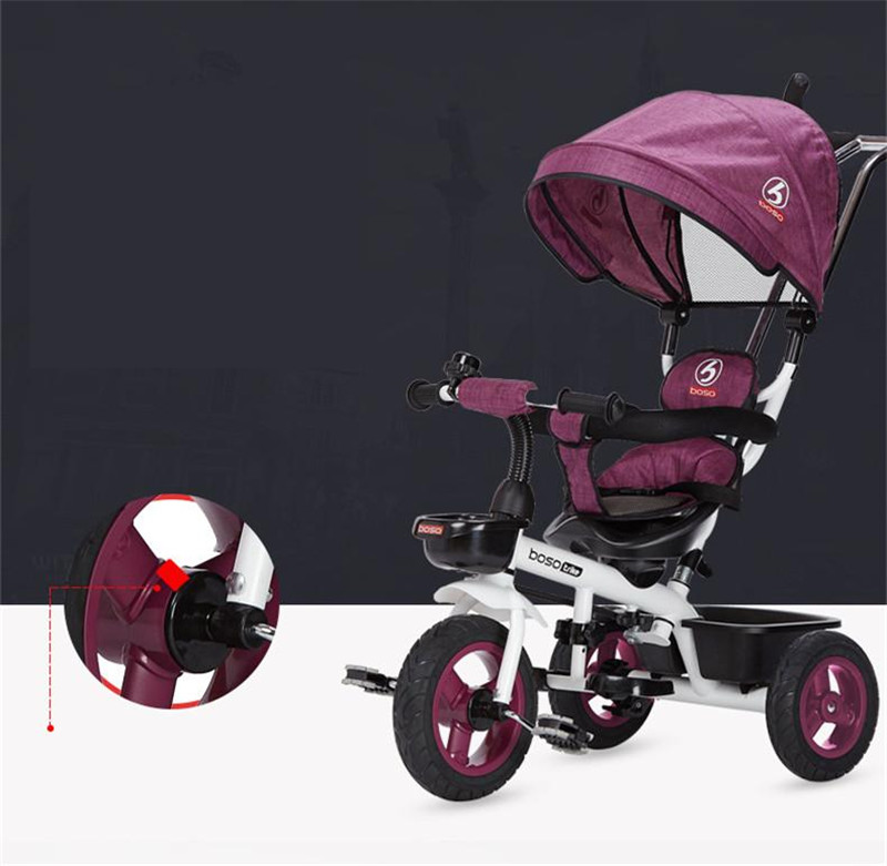 Hot Sell Seat 360 Degrees Rotated Baby Push Baby Stroller Multicolor Child Bike Commutatable Handle Kids Tricycle Free Drop Ship2
