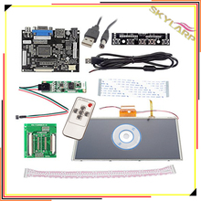 """Best price 9"""" inch HDMI/VGA Digital LCD Driver Board with Touch Screen for Raspberry Pi Compatible with AT090TN10 AT090TN12"""