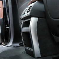 YAQUICKA 2Pcs Set Car Rear Air Conditioner Outlet Vent Strips Trim Cover Styling For BMW X5