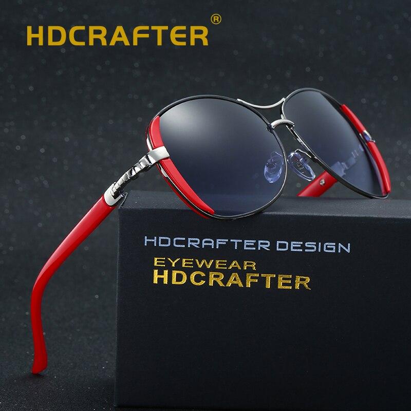 8976a56482 HDCRAFTER 2017 marque De Luxe Femmes Lunettes de Soleil New élégant lunettes  anteojos de sol mujer lunettes de Soleil pour Femme oculos de sol dans  Lunettes ...