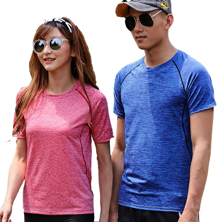 Wrench Trend Mark 2019 Outdoor Men Women Quick-drying Short-sleeved T-shirt Fitness Running Sports Ultra-light T-shirt Breathable Yoga Clothes