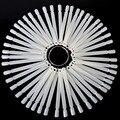 50 Pieces False Display Nail Art Fan Wheel Polish Practice Tip Sticks Design Decor Set New Hs