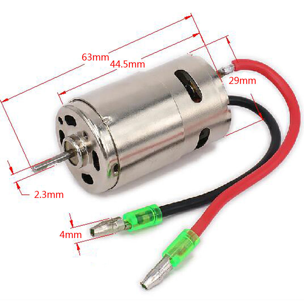 390 Brushed Electric Engine Motor L959-33 For 1/12th Scale WLtoys L959 L969 L979 L202 L212 L222 K959 RC Car Parts rc 370 electric motor engine 7 2v engine 1 18 scale remote control car spare parts