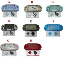 For PSP2000 PSP 2000 Old Version Game Console replacement full housing shell cover case with buttons kit