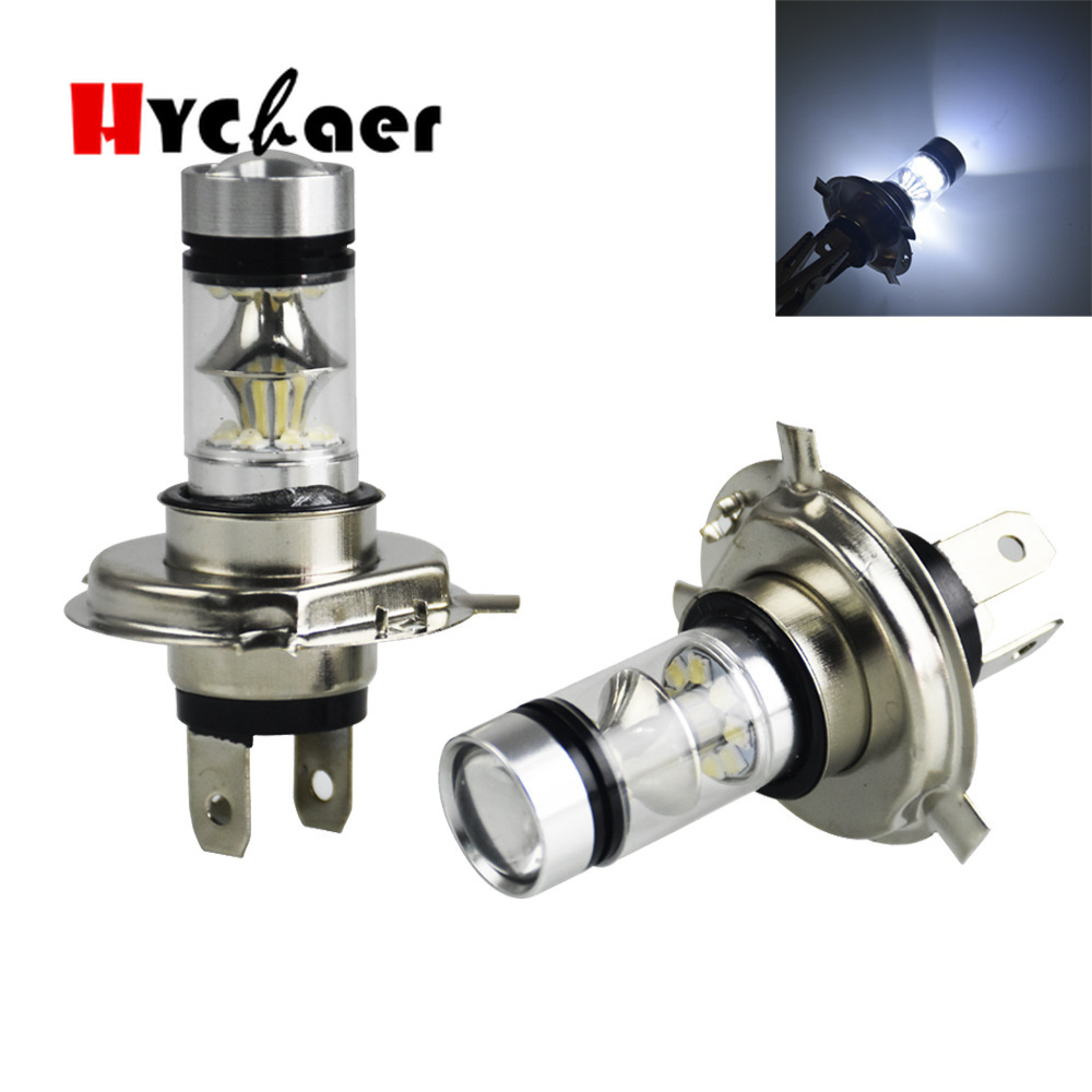 2Pcs H4 LED H7 H11 H8 9006 HB4 H1 H3 HB3 COB S2 Auto Car Headlight