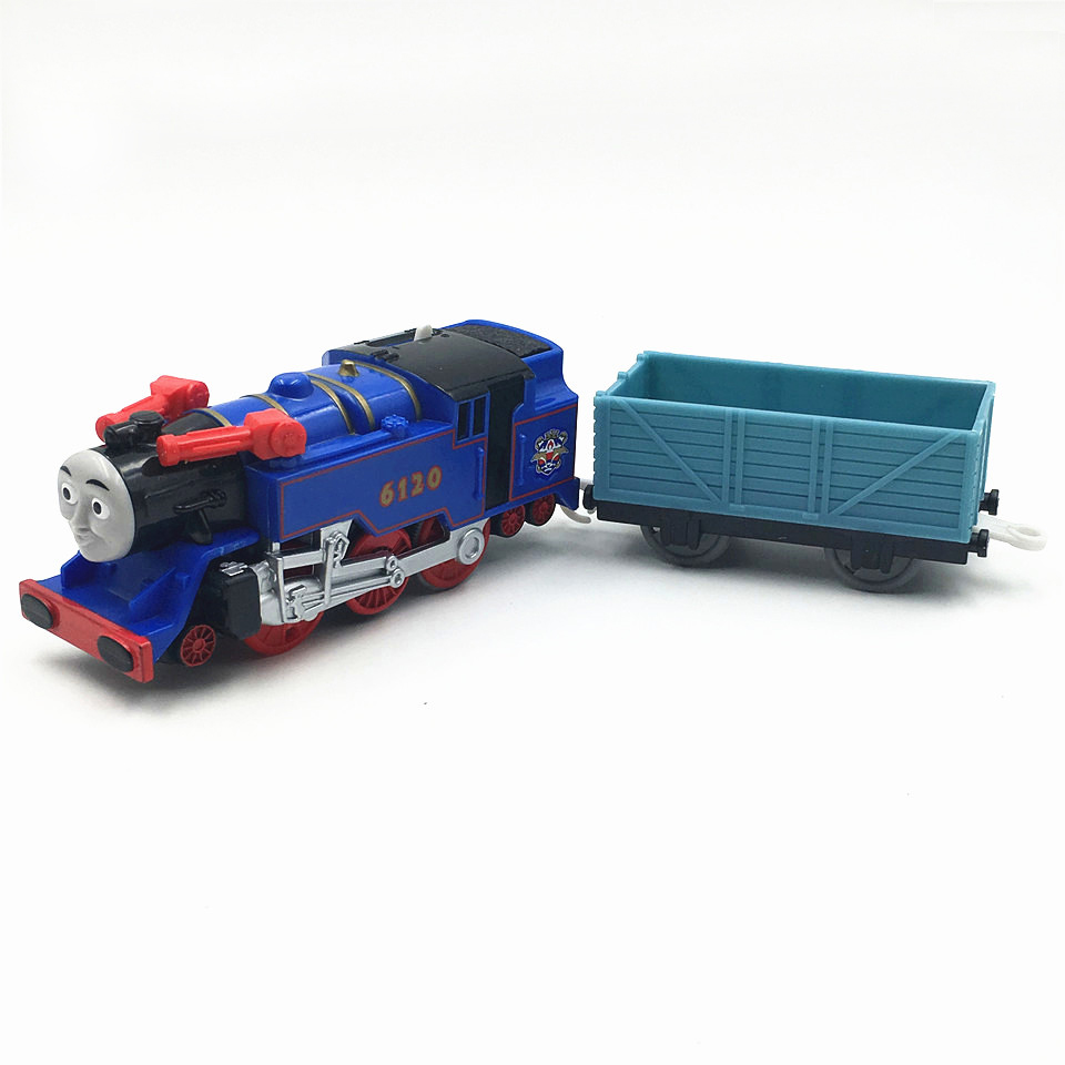 Electric Thomas Train T008E BELLE Thomas And Friends Trackmaster Magnetic Tomas Truck Car Locomotive Engine Railway Toys Boys
