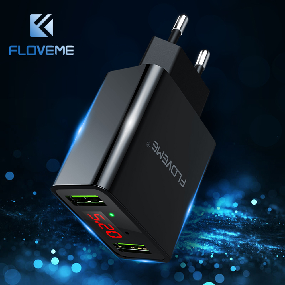 FLOVEME 2A USB Charger For Phone For iPh