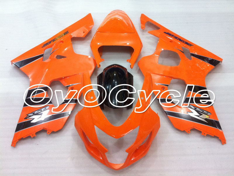 For 04 05 Suzuki GSXR600 GSXR750 K4 GSXR 600 750 Injection Motorcycle ABS Fairing Bodywork Kit 2004 2005 Orange