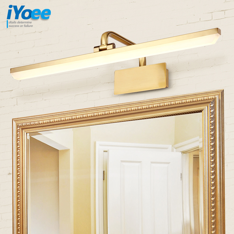 Modern Bathroom LED Wall Lamp Lights with Adjustable Gold/white/black vanity  Mirror Wall Sconces Lamps Decor Wall LightingModern Bathroom LED Wall Lamp Lights with Adjustable Gold/white/black vanity  Mirror Wall Sconces Lamps Decor Wall Lighting