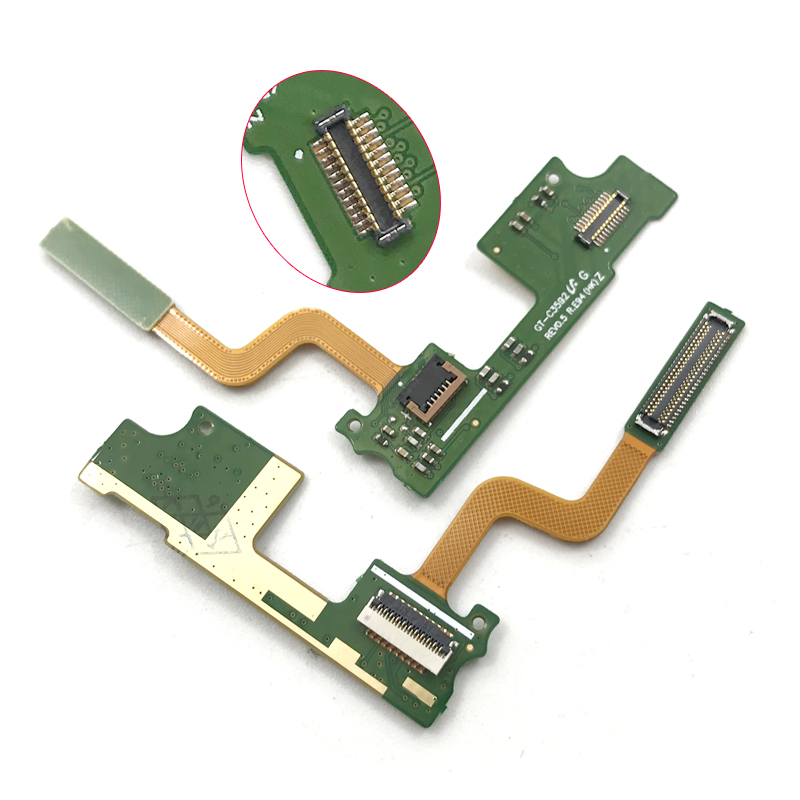 New For Samsung C3592 Flex Cable GT-C3592 LCD Display Connector Main Flex Cables Replacement Parts