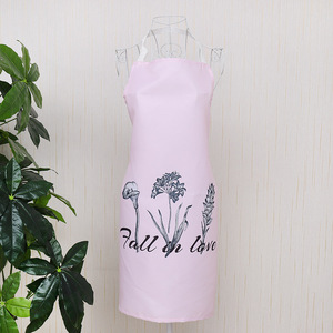 Image 5 - 1 Ps Chic Flower Pattern Unisex Cooking Dining Kitchen BBQ Restaurant Cleaning Waterproof Waitress Housework Aprons Dropshipping