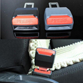 2 Unids Universal Car Auto de Seguridad Cinturón de Hebilla de Seguridad Clip Extender Extensión Interior Sujetador