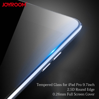 Voor iPad Pro 9.7 inch Gehard Glas Screen Beschermfolie Transparant Volledige Cover 2.5D Ronde Rand 0.26mm Altra Dunne goede Touch