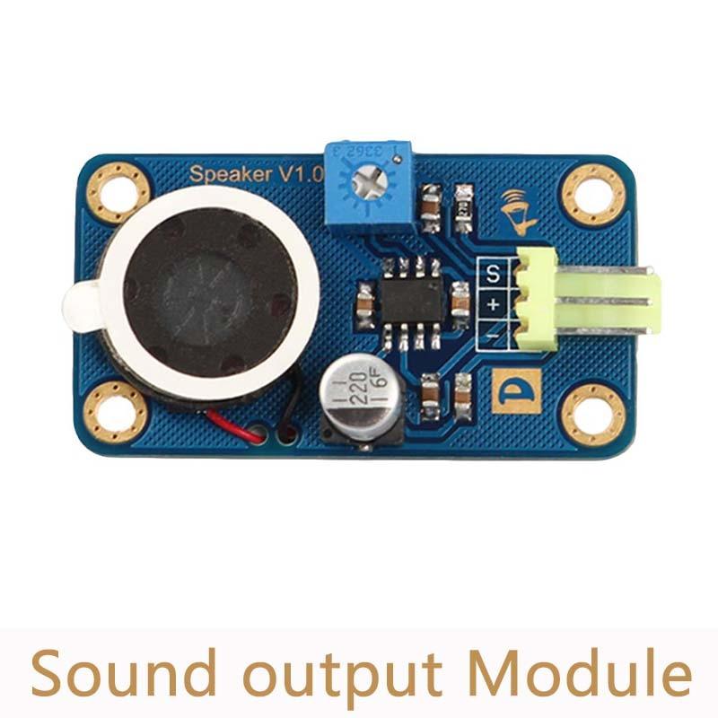 Speaker Module Sound Output Module Microphone Sensor Module Sound Sensor for Arduino L12