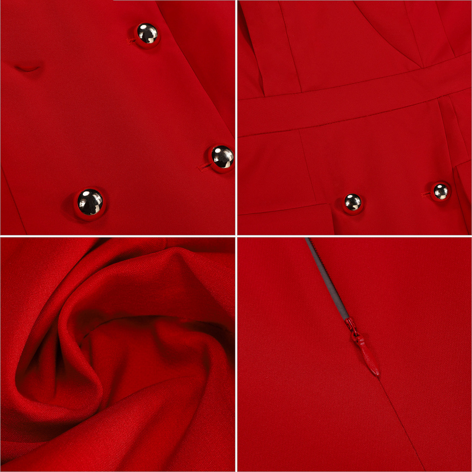 Pu Sexy Bouton Club Ciel V 2018 Safari Bretelles Femmes Eau Celebrity cou rouge Robes Élégant Party Robe Style D'été Mlle xTqOvF