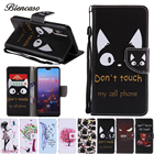 Coque FIip Case For Huawei P10 Plus P8 Mini P9 LITE 2017 P20 Mate 10 9 X Enjoy 7S Honor 5X Play 5X Cases For iphone 8 7 6S B128