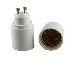 GU10 к E27 светодиодный светильник лампа адаптер держатель лампы конвертер гнездо светильник держатель лампы адаптер Разъем термостойкий материал 1 шт