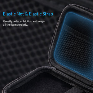 Image 3 - ORICO 2.5 Hard Disk Case Portable HDD Protection Bag for External 2.5 inch Hard Drive/Earphone/U Disk Hard Disk Drive Case Black