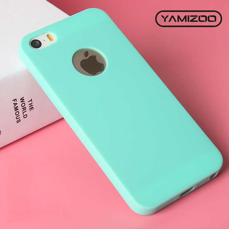 MOUSEMI Cover For iPhone 5s se 5 Case Silicone Cute Fundas 5s On Ultra Thin Soft Matte Back Cover Phone Case For iPhone 5 se 5s