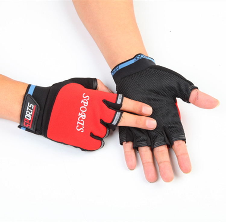Equipment mountain, bike short finger riding gloves shock, absorption and wear resistance Riding equipment mountain bike short finger riding gloves shock absorption and wear resistance riding