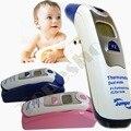 Puente de Atención Médica CE FDA Láser Sin contacto LCD Digital de Oído y La Frente Termómetro Infrarrojo De Temperatura Corporal para el Bebé o Adultos