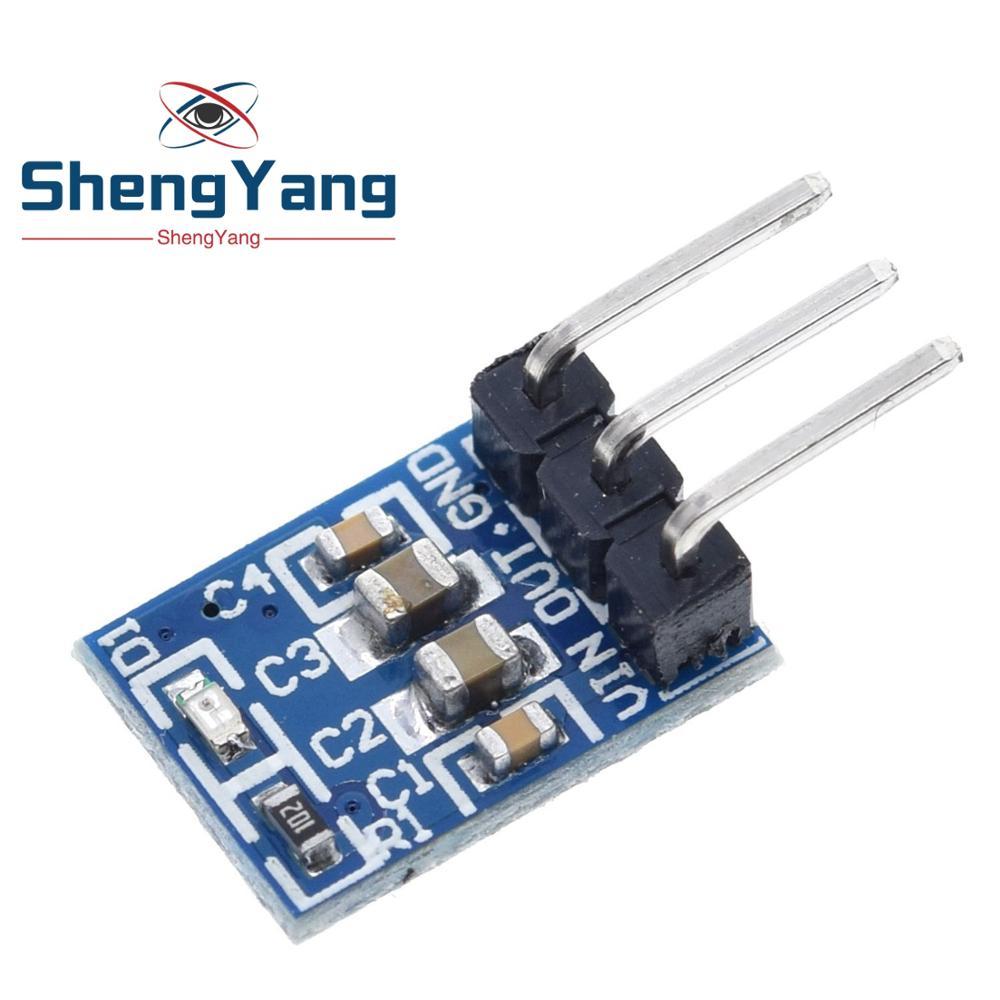 Haute qualité 5 pièces ShengYang 5V à 3.3V pour DC-DC Module abaisseur dalimentation AMS1117 LDO 800MA