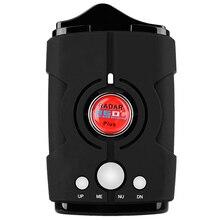 Detector de Radar do carro 16 da Banda de Alerta de Voz V8 Anti Sistema de Testes de Velocidade Do Carro Detector De Radar LEVOU Exibição 360 Graus JC10