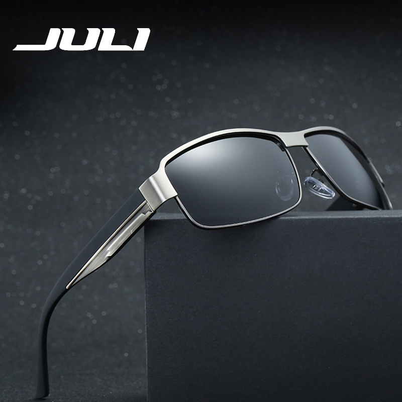 JULI Sports Square Sunglass Polarized Gafas Polaroid Sunglasses Men Women Brand Designer Driving Sun Glasses Male Oculos 8485C