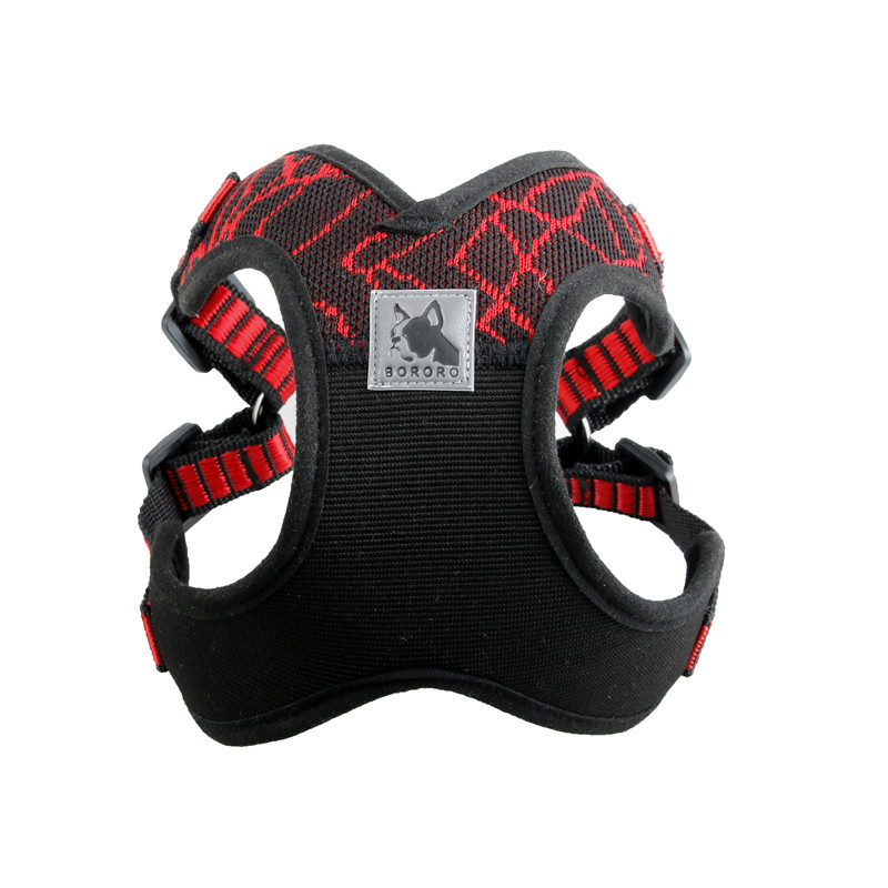 No-pull Dog Soft Air Mesh Harness Vest Sport X3 for Walking and Training Dog Harness