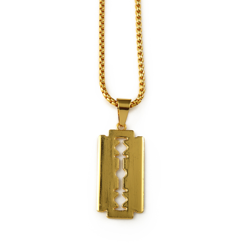 Wholesale men women bling hip hop necklaces charm chains rapper wholesale men women bling hip hop necklaces charm chains rapper jewelry gifts nightclub small blade pendants in pendant necklaces from jewelry accessories thecheapjerseys Image collections