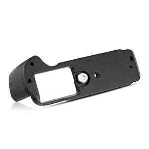 Image 5 - Meike XT20G אלומיניום סגסוגת יד אחיזה שחרור מהיר צלחת סוגר L Fujifilm X T20 X T10 XT 20 מצלמה