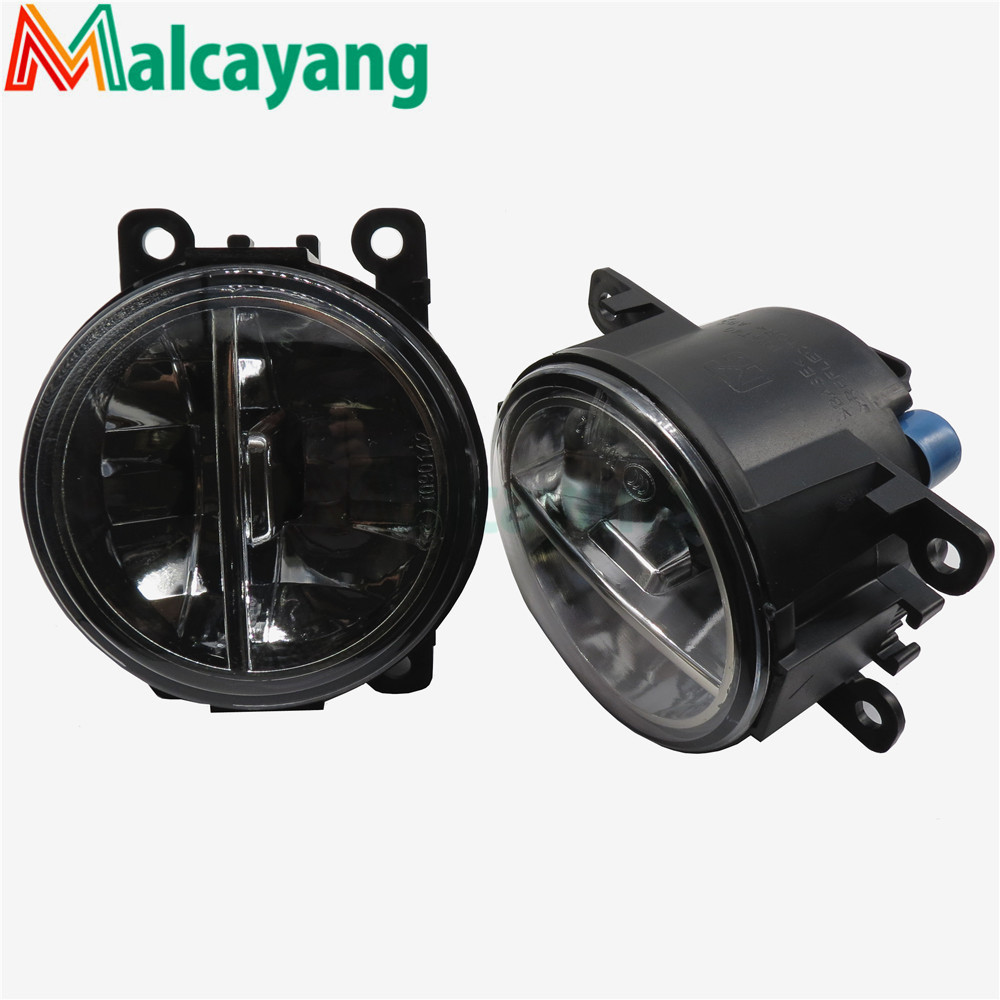 1set Car-styling LED fog lamps10W high brightness lights For Renault MEGANE 2 Saloon LM0 LM1 2003-2015 for lexus rx gyl1 ggl15 agl10 450h awd 350 awd 2008 2013 car styling led fog lights high brightness fog lamps 1set