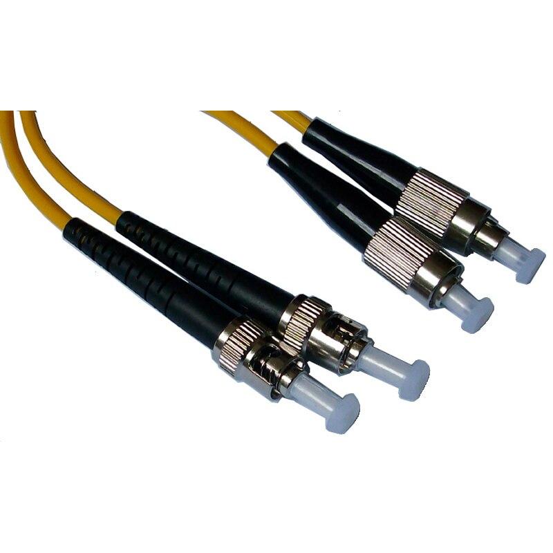 Оптический кабель, Fc / PC-ST / pc, 3.0 мм, Одномодовый 9/125, Дуплекс, Фк ст 15 м