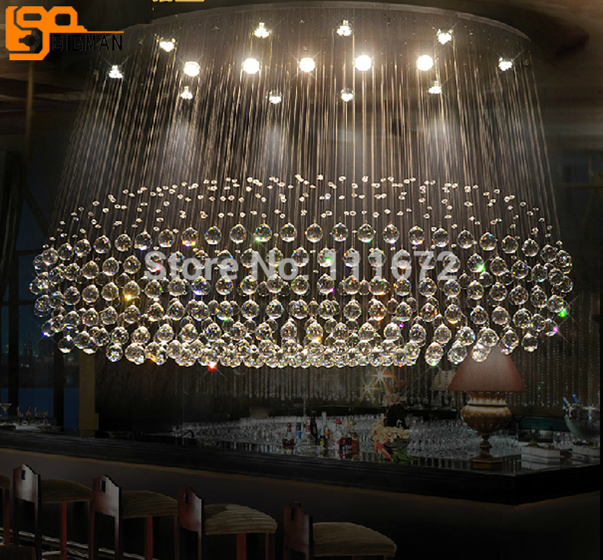 large modern oval crystal chandeliers lighting lustre lamps for home/ restaurant/hotel/shop z best price european luxury golden round crystal chandeliers light home foyer lamps hotel restaurant clubs bedroom droplights