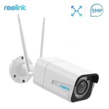 Reolink камера безопасности 5MP 2,4G/5G WiFi камера HD 4x оптический зум Встроенный слот для sd-карты ночное видение Пуля IP камера RLC-511W