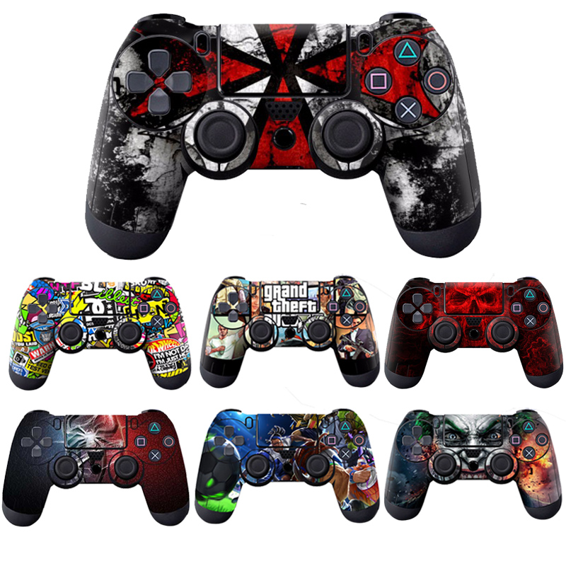 Vinyl Skins for PS4 Controller Sticker Decal Stickers for Playstation4 Gamepad Cover For PS4 Control For PS4 Slim Skin Sticker(China)