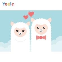 Yeele Baby Shower Birthday Alpaca Birth Customized Photography Backdrop Personalized Photographic Background For Photo Studio